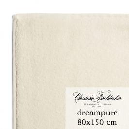 Christian Fischbacher Ręcznik kąpielowy 80 x 150 cm kremowy Dreampure, Fischbacher