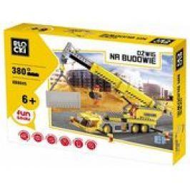 Na budowie D�wig 380 element�w Blocki