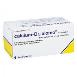 Calcium D3 biomo Kautabletten 500+d