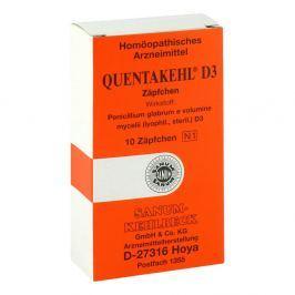 Quentakehl D 3 Suppos.