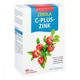 Cerola C plus Cynk Taler Grandel tabletki