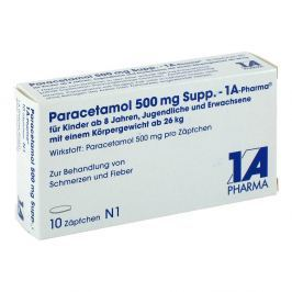 Paracetamol 500 mg Supp. 1a Pharma Suppos.