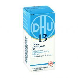 Biochemie Dhu 13 Kalium arsenicosum D 6 Tabl.