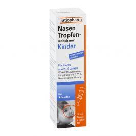Nasentropfen ratiopharm Kinder Konservier.frei