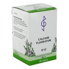 Biochemie 1 Calcium fluoratum D 12 Tabl. Medycyna naturalna