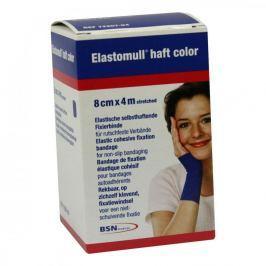 Elastomull haft 4mx8cm 72207-04 blau Fixierb.
