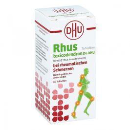 Rhus Tox. D6 Dhu bei rheumatischen Schmerzen Tabletten
