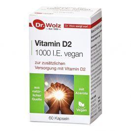 Dr Wolz Witamina D2 1000 I.E. vegan kapsułki