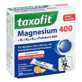 Taxofit Magnesium 400+ B1+ B6+ B12+ Folsaeure 800