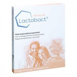 Lactobact Premium 7 Tage Packung magensaftresistent  Kapsel (n)
