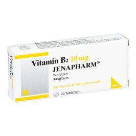 Vitamin B 2 10 mg Jenapharm Tabl.