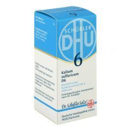 Biochemie DHU sól Nr 6 Siarczan potasu D6, tabletki