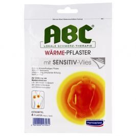 Hansaplast med Abc Sensitive plaster rozgrzewający