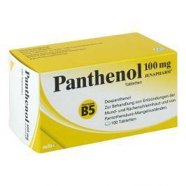 Panthenol 100 mg Jenapharm Tabl.