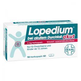 Lopedium Akut preparat na ostrą biegunkę, kapsułki