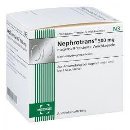 Nephrotrans Kapseln magensaftr.