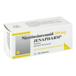 Nicotinsaeureamid 200 mg Jenapharm Tabl.