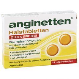 Anginetten tabletki na gardło bez cukru