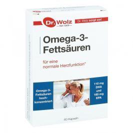 Omega 3 Fettsaeuren 500 mg/60% Kapseln