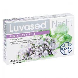 Luvased Nacht nassene tabletki powlekane na noc