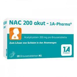 Nac 200 akut 1a Pharma Brausetabl.