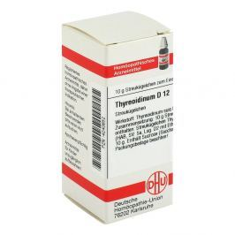 Thyreoidinum D 12 Globuli