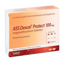 Ass Dexcel Protect 100 mg magensaftresistent    Tabletten