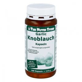 Knoblauch 500 mg geruchsarm Kapseln