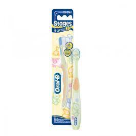 Oral B Stages 1 szczoteczka do zębów dla dzieci od 4 do 24 miesi