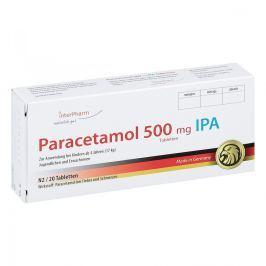 Paracetamol 500 mg Ipa Tabletten