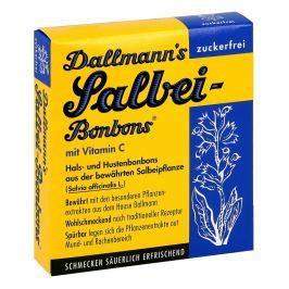 Dallmann's cukierki z szałwią bez cukru