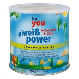 For You Eiweiss Power Vanille
