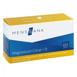 Magnesiumcitrat+d Menssana Kapseln