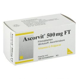 Ascorvit 500 mg Ft Filmtabl.