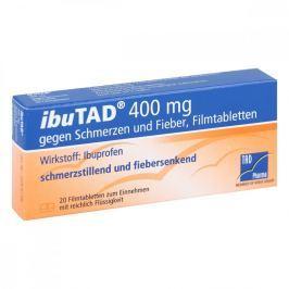 Ibutad 400 mg gg. Schmerzen u.Fieber Filmtabl.