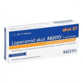 Loperamid akut Aristo 2 mg Tabl.