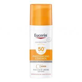 Eucerin Sun krem tonujący CC SPF 50+ odcień średni