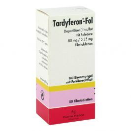 Tardyferon-fol Depot tabletki powlekane 80 mg