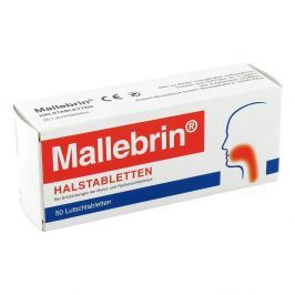Mallebrin tabletki na gardło