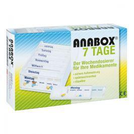 Anabox 7 Tage Wochendosierer weiss