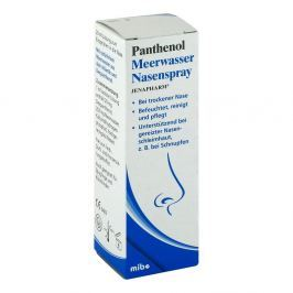 Panthenol sól morska do nosa