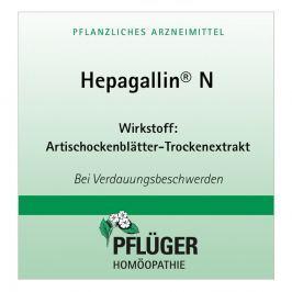 Hepagallin N drażetki