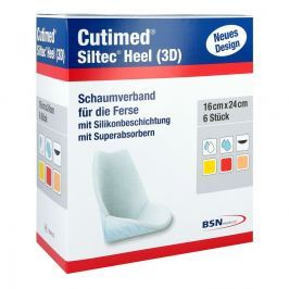 Cutimed Siltec Heel 3d 16x24 cm Kompressen