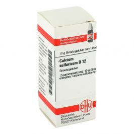 Calcium Sulfuricum D 12 Globuli