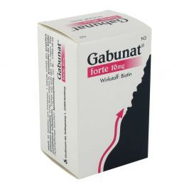 Gabunat forte 10 mg Tabl.