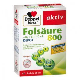 Doppelherz kwas foliowy 800 + witam. B tabletki