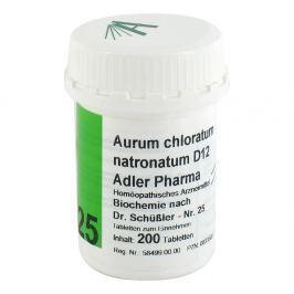 Biochemie Adler 25 Aurum chlor.natr.D12 Tabl.