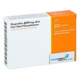 Ibuprofen 400 akut Fair Med Filmtabl.