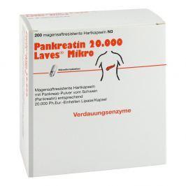 Pankreatin 20000 Laves Mikro magensaftresistent    Kapseln