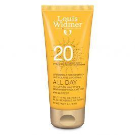 Louis Widmer All Day mleczko ochronne 20UV, lekko perfum